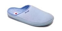 Ботиночки детские на молнии голубые Dr.Luigi