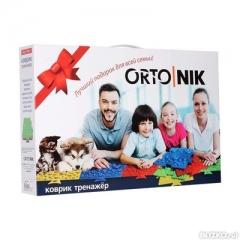 Ортопедический коврик-тренажер для детей четырехзонный 1001