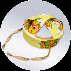 Подушка детская защитная для головы  ПДЗ021 ПасТер
