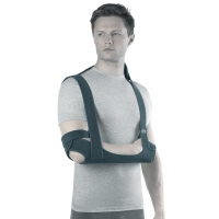 Бандаж на плечевой сустав с ребрами жесткости  (поддерживающая повязка) TSU 233