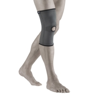 Бандаж на коленный сустав  с одной парой ребер жесткости (NANO BAMBOO CHARCOAL) BCK 271