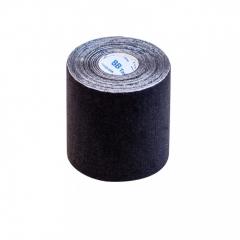 Кинезио тейп широкий BBTape™ 7,5 см × 5 м черный