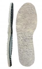 Мягкие ортопедические стельки с покрытием из натуральной шерсти Зимний комфорт 38Т