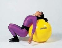 Мяч Gymnic 45 см. (желтый) 95.45