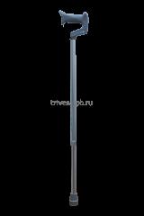 Трость телескопическая с ортопедической ручкой CA833L4