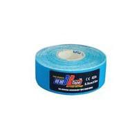 Тейп кинезио BBTape 2,5см x 5м голубой