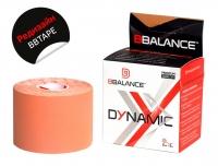 Нейлоновый кинезио BBTape™ Dynamic Tape 5см × 5м бежевый