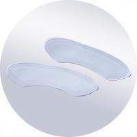 Корригирующее силиконовое приспособления в обувь для защиты пяточного отдела стопы, пара SP-I-941