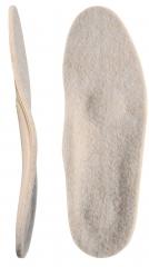 Каркасные ортопедические стельки с покрытием из натуральной шерсти Зима Элит 50Т