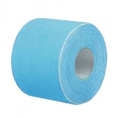 Кинезио тейп BBTape™ ICE 5см x 5м голубой (искусственный шёлк)