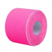 Кинезио тейп BBTape™ ICE 5см × 5м розовый (искусственный шёлк)