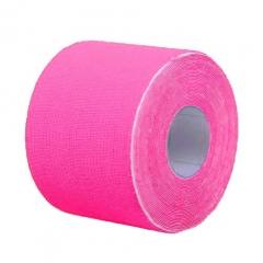 Кинезио тейп BBTape™ ICE 5см x 5м розовый (искусственный шёлк)