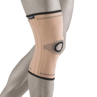 Бандаж на коленный сустав с двумя парами ребер жесткости (NANO BAMBOO CHARCOAL + FLEXTRA) BCK 270
