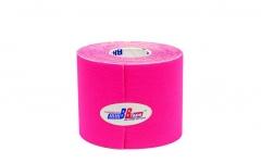 Кинезио тейп BBTape™ 5см x 5м флуоресцентный розовый