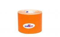 Кинезио тейп BBTape™ 5см × 5м флуоресцентный оранжевый