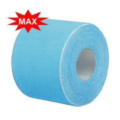 Кинезио тейп BBTape™ ICE MAX 5см x 5м голубой (искусственный шёлк)