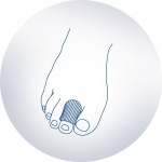 Силиконовая трубка для пальцев, (150 мм) ORTO, шт. SP-I-927