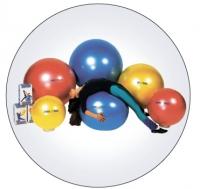 """Мяч """"Body ball """" с BRQ 85 см (красный) 90.85"""