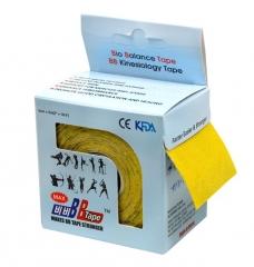 Кинезио тейп BBTape™ МАХ 5см x 5м желтый