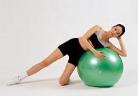 Мяч Gymnic Plus 75  см. с BRQ (зеленый) 95.41