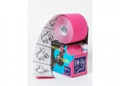 EМ-FIX sport кинезиотейп усиленная фиксация цвет розовый 5см х 5м