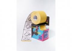EМ-FIX sport кинезиотейп усиленная фиксация цвет желтый 5см х 5м