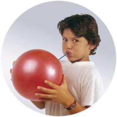 Мяч для дыхательной гимнастики OVER BALL 80.11