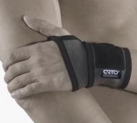 Бандаж на лучезапястный сустав с отверстием для большого пальца (NANO BAMBOO CHARCOAL) BWU 101