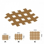 Кросс тейпы BB CROSS TAPE™ 2,1 см x 2,7 см (размер А) красный
