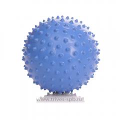 Мяч гимнастический игольчатый (диаметр 20 см) (оранжевый цвет) М-120