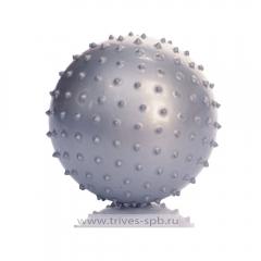 Мяч гимнастический игольчатый (диаметр 30 см) синий цвет М-130