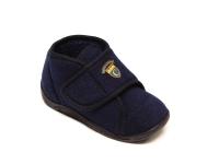 Ботиночки детские на липучке синие DrLuigi