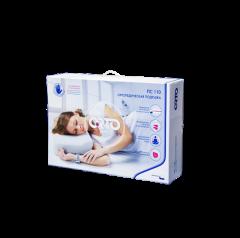Подушка для сна из материала с эффектом памяти формы, с выемкой под плечо, валики 9 и 13 см ПС110 ORTO