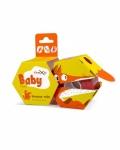 Кинезиотейп детский с принтом «Лисичка» Kinexib Baby Fox (4м*4см) для детей 2-5 лет