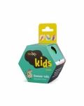 Кинезиотейп детский с принтом «Енот» Kinexib Kids Raccoon (4м*4см) для детей 5-10 лет