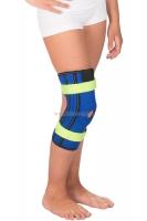 Детский бандаж на коленный сустав с пружинными ребрами жесткости Т-8530