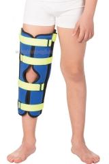 Детский бандаж для полной фиксации коленного сустава (тутор) (Т-8535) Т.44.45