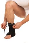 Бандаж на голеностопный сустав на шнуровке Т-8608