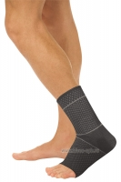 Бандаж компрессионный на голеностопный сустав с силиконовыми вкладышами Т-8610